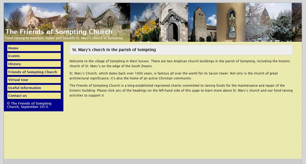 Friends of Sompting Church website