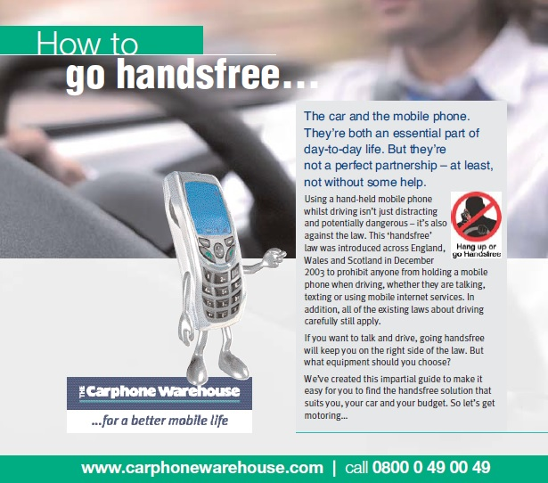 How to go handsfree